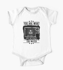 You Are What You Watch One Piece - Short Sleeve