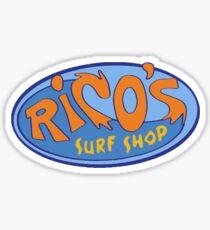 "Hannah Montana ""Rico's Surf Shop"" Logo Sticker"