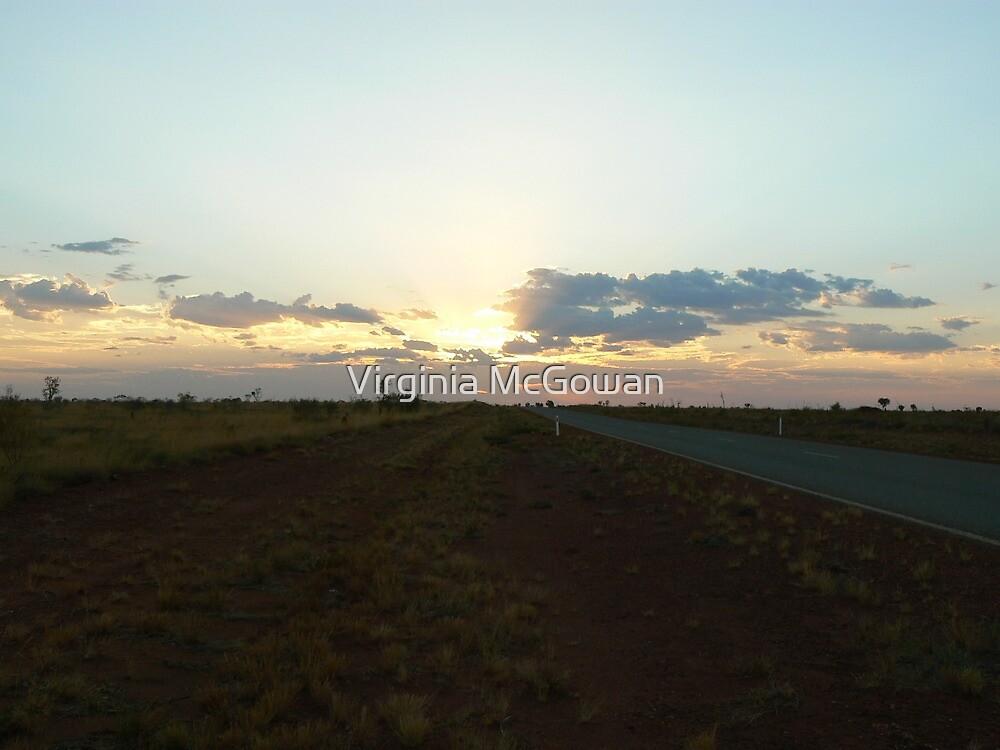 Kununurra Sunset  by Virginia McGowan