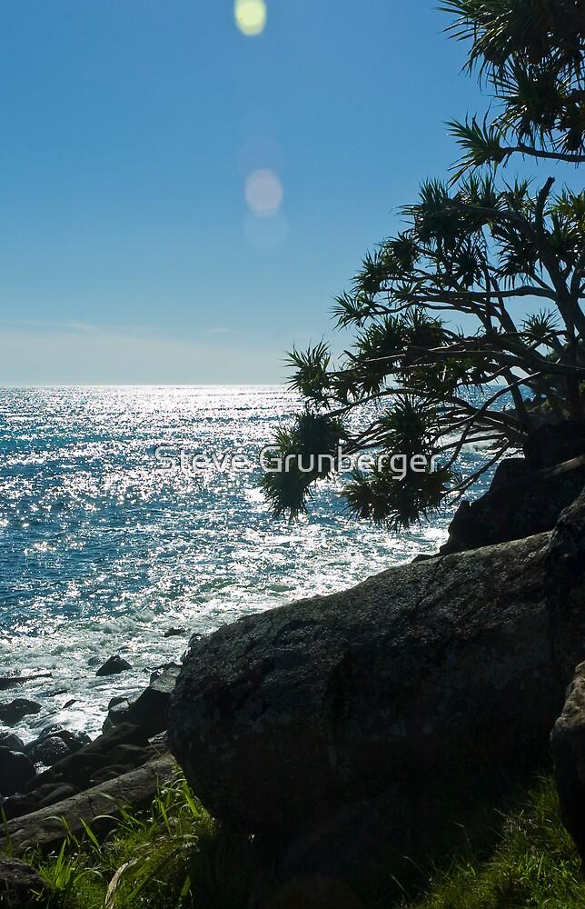 Burleigh Point, Queensland by Steve Grunberger
