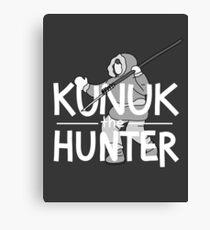 Kunuk The Hunter - Documentary Now! (Dark) Canvas Print