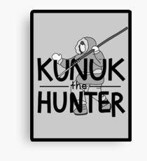 Kunuk The Hunter - Documentary Now! (Light, with Border) Canvas Print