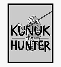Kunuk The Hunter - Documentary Now! (Light, with Border) Photographic Print