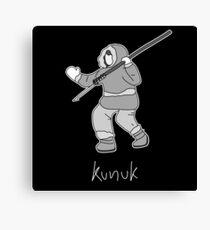 Kunuk The Hunter - Documentary Now! (Outlined) Canvas Print