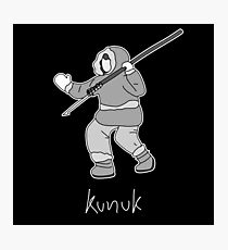 Kunuk The Hunter - Documentary Now! (Outlined) Photographic Print