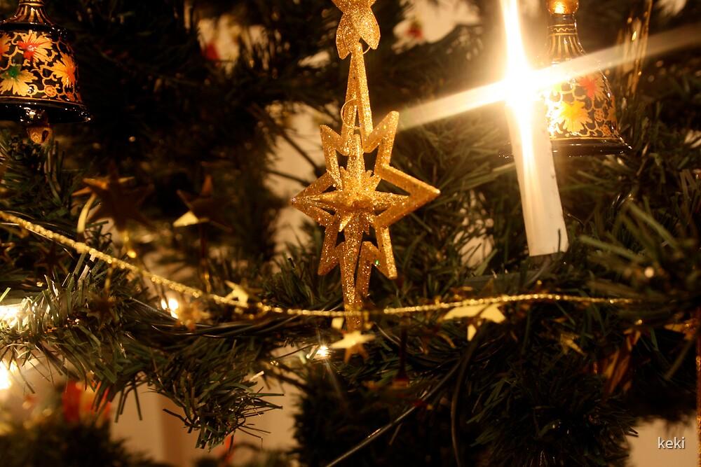 christmas tree by keki