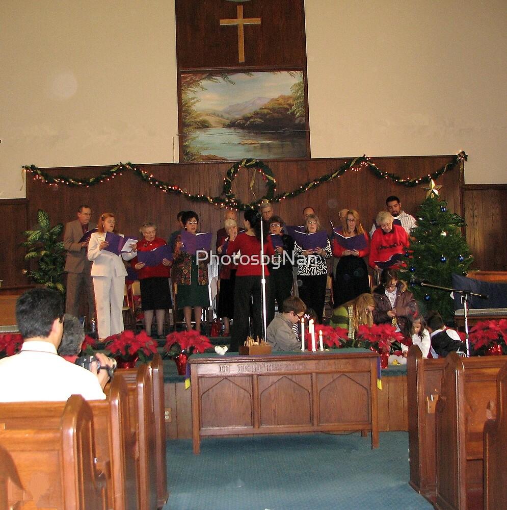 Christmas Cantata at Church by PhotosbyNan