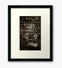 Corroded Faith Framed Print