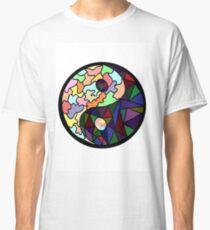 Yin Yang Sticker Classic T-Shirt