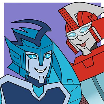 Blurr and Fasttrack by japanesemaple