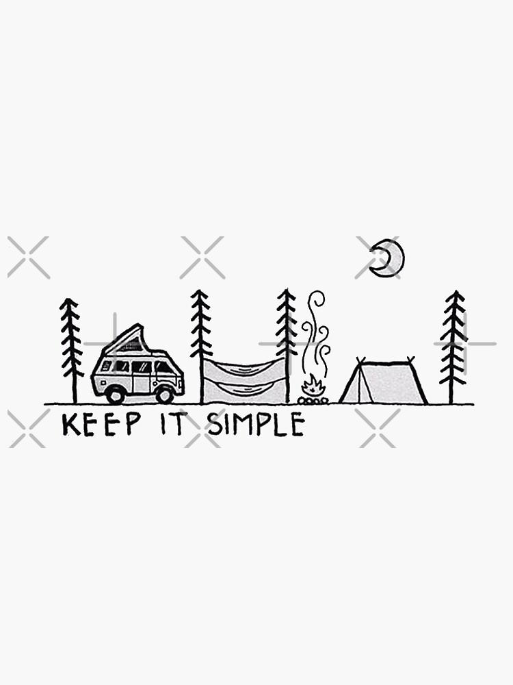mantenlo simple de stickersnstuff