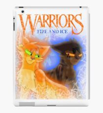 Fire and Ice - Fireheart and Tigerclaw iPad Case/Skin