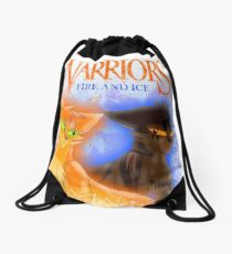 Fire and Ice - Fireheart and Tigerclaw Drawstring Bag