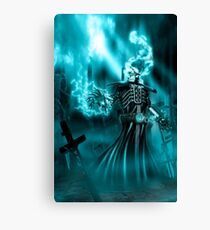 Electric Ghost Canvas Print
