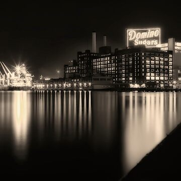 Domino Sugars Factory in Baltimore, Maryland by LostVox