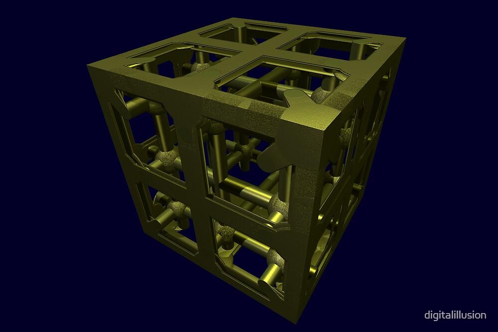 Cubenoid ball joint by digitalillusion