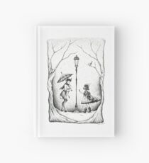 Meeting at the Lamp Post Hardcover Journal