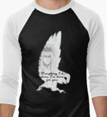 Labyrinth Everything I've Done Owl Men's Baseball ¾ T-Shirt