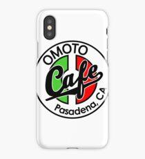 Omoto Cafe, Pasadena, CA (Color) iPhone Case/Skin