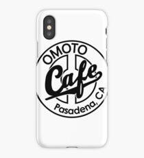 Omoto Cafe, Pasadena, CA (B&W) iPhone Case/Skin