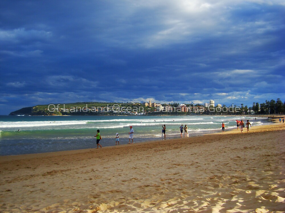 Life on the Beach, Manly, Sydney, Australia  by Of Land & Ocean - Samantha Goode