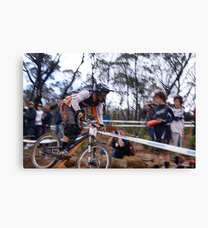 MTBA Nationals, You Yangs Canvas Print