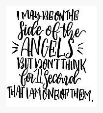 Sherlock-Angels Photographic Print