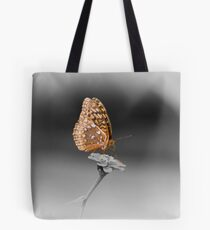 Butterfly Seeking Nectar Tote Bag