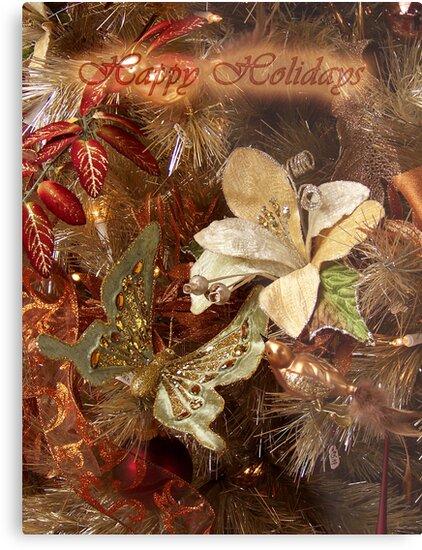 Happy Holidays (Tree 2) by ChereeCheree