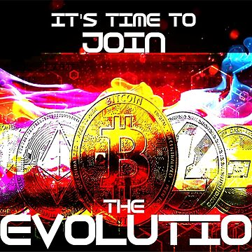 It's Time To Join The Revolution: Cryptocurrency by mugendesigns