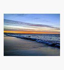 Sunset at Leighton Beach, North Fremantle Photographic Print