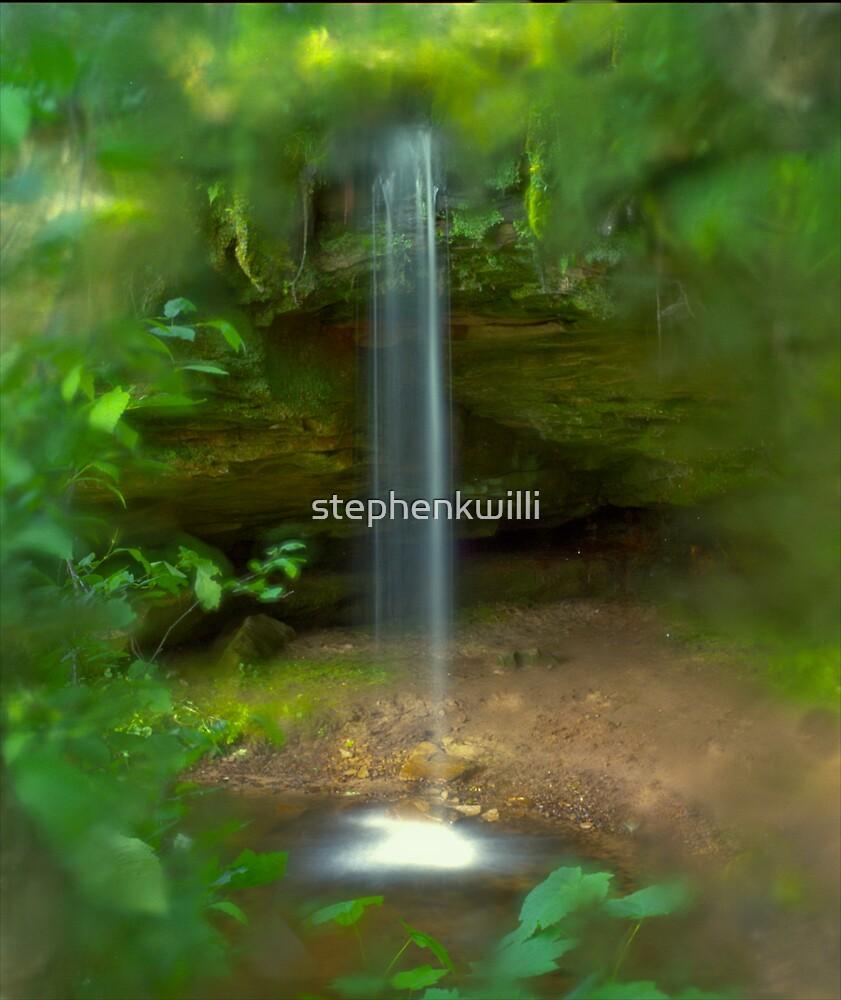 Scott Falls (slight return) by stephenkwilli