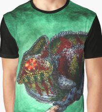 Watercolor Wildlife: Prismatic Graphic T-Shirt