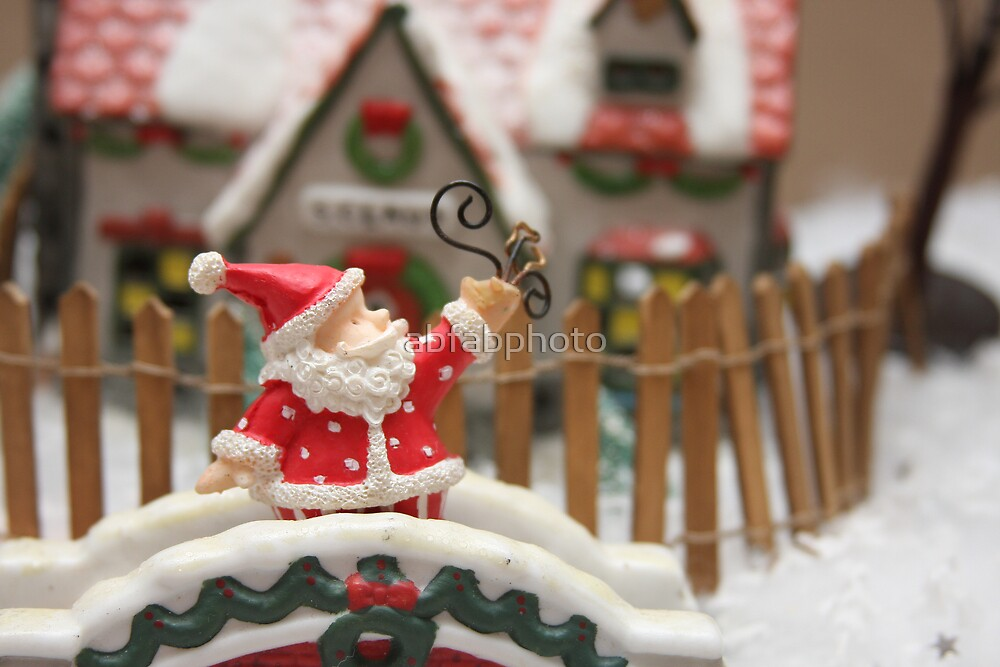 Santa's Coming to Town by abfabphoto