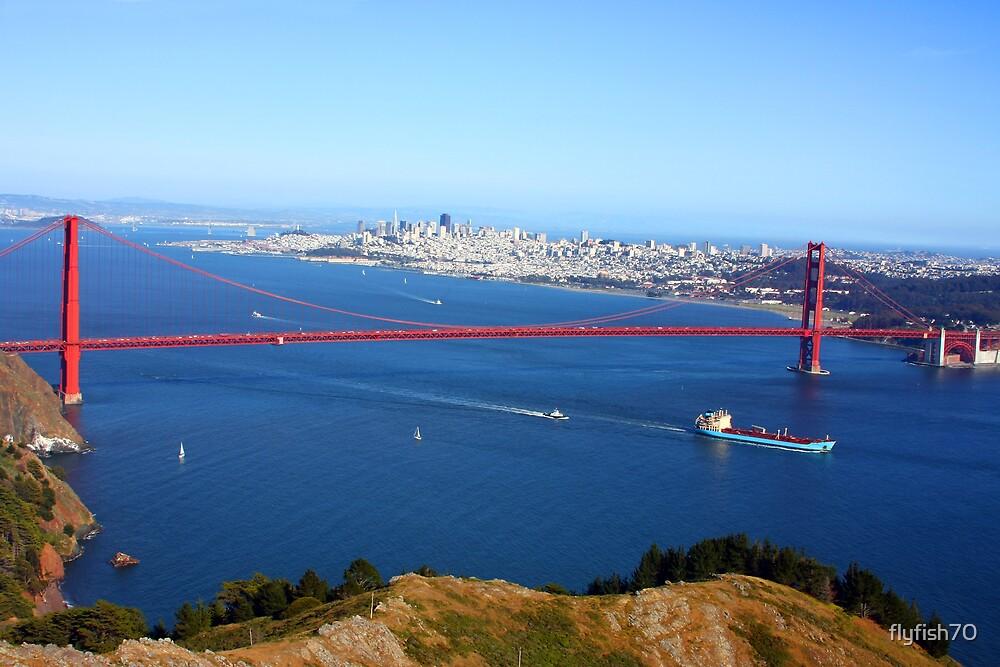 San Francisco Bay by flyfish70
