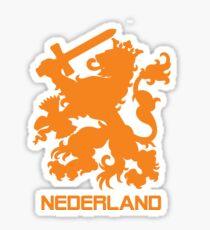 The Netherlands Jersey Shirt Soccer Oranje Dutch Holland Football Sticker