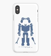 Toys: robot, console, spanner, screwdriver. iPhone Case/Skin