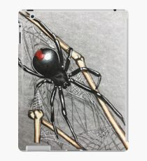 Black widow iPad Case/Skin