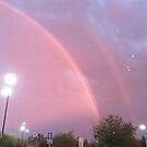 Doppelter Regenbogen Pastell von ericleeart