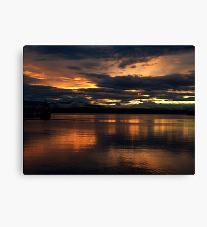 Just another sunset. Canvas Print