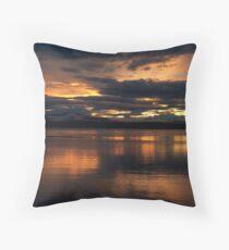 Just another sunset. Throw Pillow