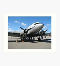 C47 (DC3 ) Dakota RAAF  Art Print