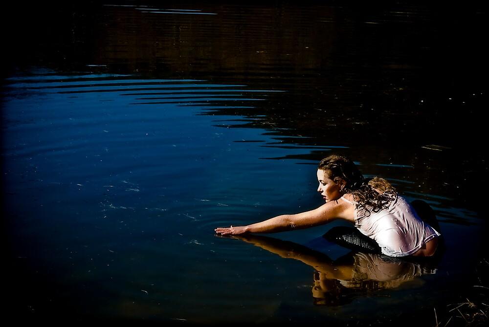 water like glass mirror by Earhart Chappel Inc.   IPA