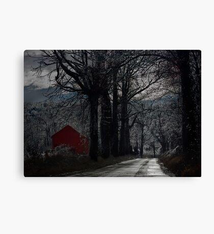 Barrett Road Canvas Print