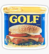 GOLF in a can | Tyler The Creator Sticker
