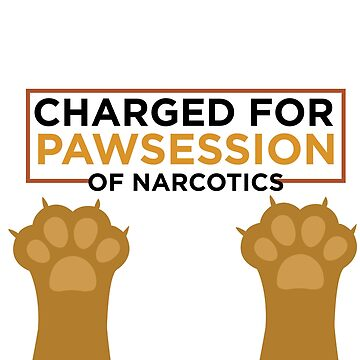Pawsession of narcotics - cat puns by philschnix