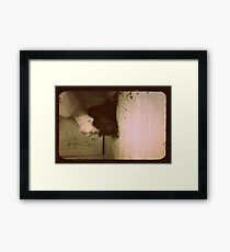 an infinite remembrance Framed Print