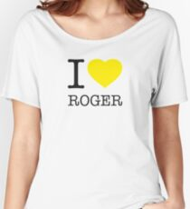 I ♥ ROGER Women's Relaxed Fit T-Shirt