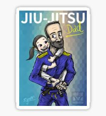 Jiu-Jitsu Dad Sticker