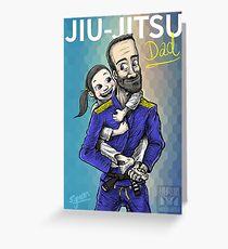 Jiu-Jitsu Dad Greeting Card